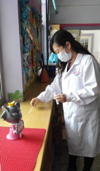 幼儿园桌面消毒技术